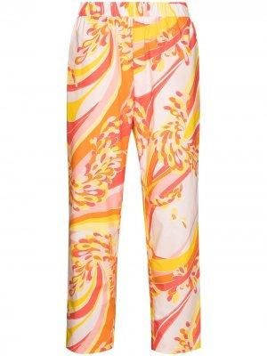 Прямые брюки Lily Emilio Pucci. Цвет: оранжевый