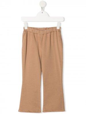 Спортивные брюки широкого кроя Douuod Kids. Цвет: нейтральные цвета