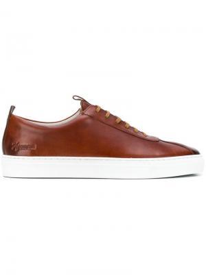 Low-top sneakers Grenson. Цвет: коричневый