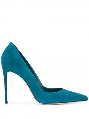 Туфли-лодочки Eva на шпильке Le Silla. Цвет: синий