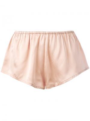 Пижамные шорты Asceno. Цвет: розовый