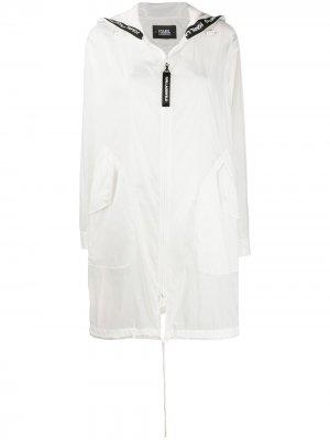 Анорак Rue St. Guillaume Karl Lagerfeld. Цвет: белый