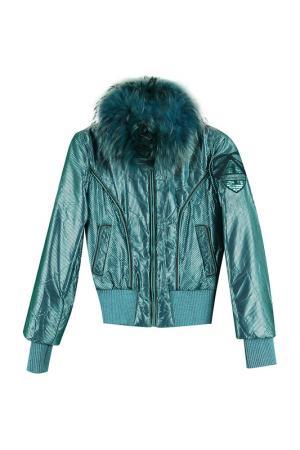 Куртка Roccobarocco. Цвет: зеленый