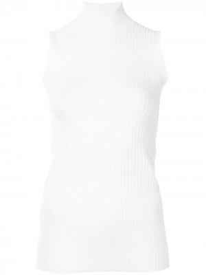 Водолазка без рукавов Proenza Schouler White Label. Цвет: белый