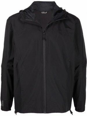 Arcteryx куртка на молнии с капюшоном Arc'teryx. Цвет: черный