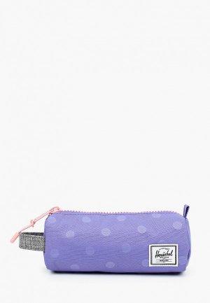 Пенал Herschel Supply Co. Цвет: фиолетовый