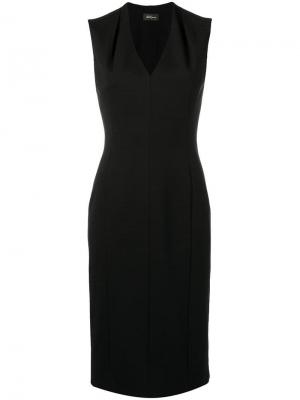 Sleeveless dress Les Copains. Цвет: черный