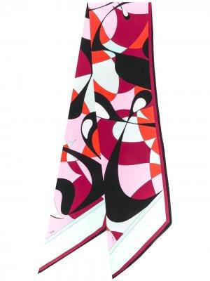 Платок Alex с принтом Emilio Pucci. Цвет: красный