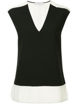 Блузка без рукавов Costume National. Цвет: черный