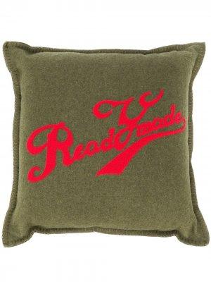 Подушка с логотипом Readymade. Цвет: зеленый