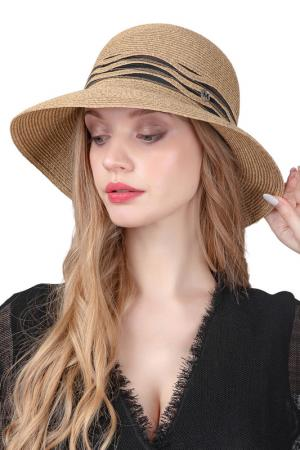 Шляпа DISPACCI. Цвет: темно-бежевый