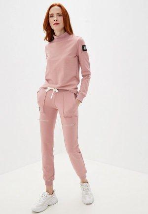 Костюм спортивный Sitlly. Цвет: розовый