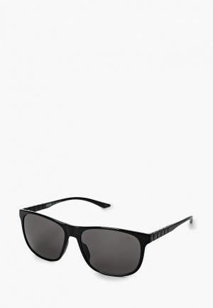 Очки солнцезащитные PUMA. Цвет: черный