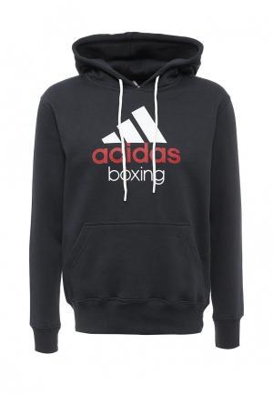 Худи adidas Combat. Цвет: черный