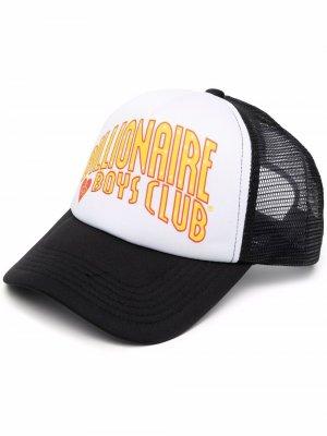 Бейсболка с логотипом Billionaire Boys Club. Цвет: черный