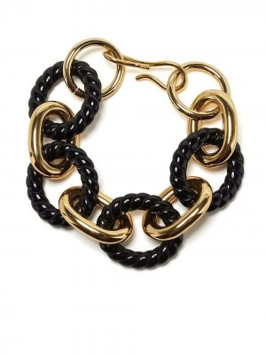 Браслет Mirrored Sea Lizzie Fortunato Jewels. Цвет: черный