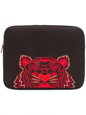 Сумка для ноутбука Tiger Kenzo. Цвет: чёрный