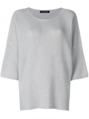 Вязаный свитер Iris Von Arnim. Цвет: серый