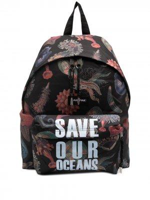 Рюкзак Save Our Oceans Eastpak. Цвет: черный