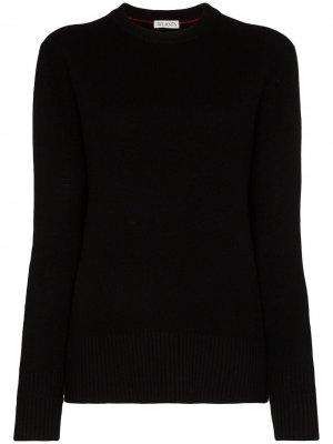 Кашемировый свитер с круглым вырезом Ply-Knits. Цвет: черный
