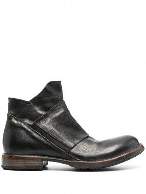 Ботинки с эластичной вставкой Moma. Цвет: черный