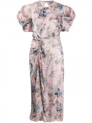 Платье Pippa Preen By Thornton Bregazzi. Цвет: розовый