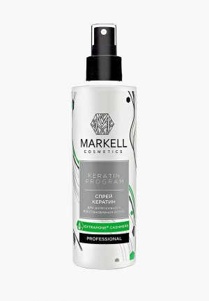Спрей для волос Markell. Цвет: белый