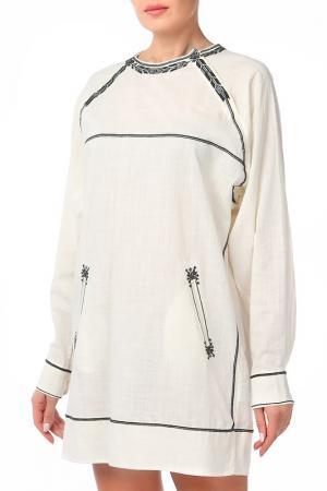 Платье ISABEL MARANT ETOILE. Цвет: бежевый