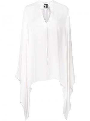 Блузка Own Thomas Wylde. Цвет: белый