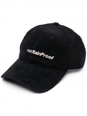 Вельветовая кепка notRainProof Styland. Цвет: черный