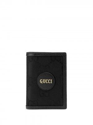 Обложка для паспорта  Off Grid Gucci. Цвет: черный