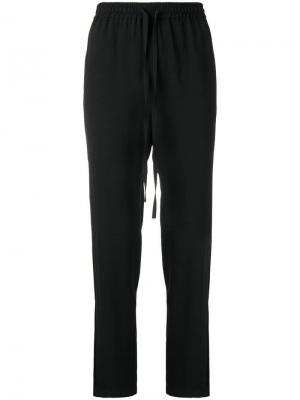 Drawstring track trousers RED Valentino. Цвет: черный