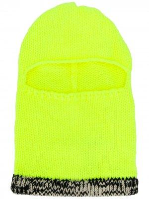 Трикотажная балаклава Calvin Klein Jeans Est. 1978. Цвет: желтый
