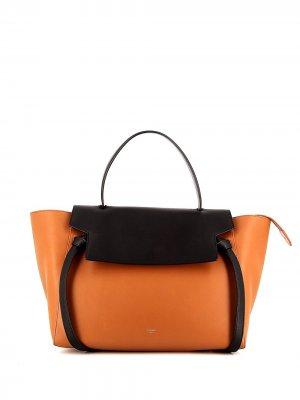 Большая сумка Belt Céline Pre-Owned. Цвет: коричневый