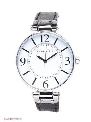 Часы ANNE KLEIN. Цвет: черный, серебристый