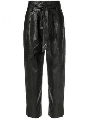 Tapered trousers 8pm. Цвет: черный