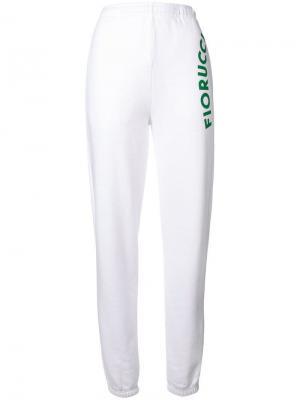 Equipe track pants Fiorucci. Цвет: белый