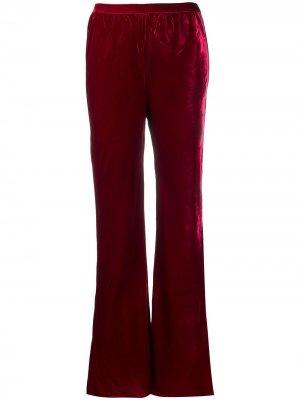 Расклешенные брюки Mes Demoiselles. Цвет: красный