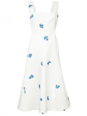 Платье миди Diliana CAMILLA AND MARC. Цвет: белый