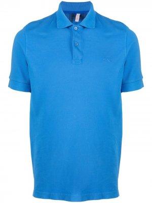 Рубашка поло Sun 68. Цвет: синий