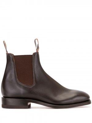 Ботинки челси Craftsman R.M.Williams. Цвет: коричневый