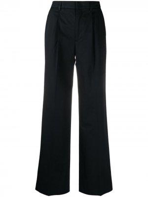 Прямые брюки Pt01. Цвет: синий