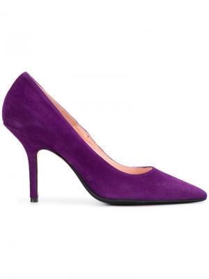 Pointed toe pumps Anna F.. Цвет: фиолетовый