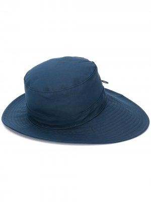 Шляпа с нашивкой Chloé. Цвет: синий