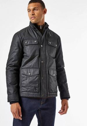 Куртка утепленная Burton Menswear London. Цвет: черный