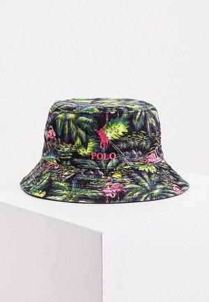 Панама Polo Ralph Lauren. Цвет: разноцветный