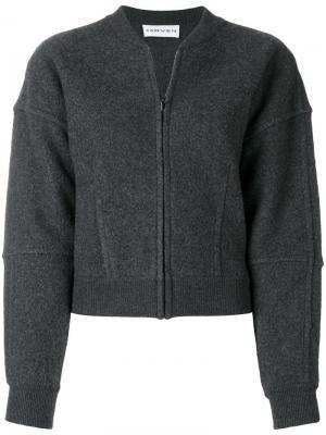 Bomber jacket Carven. Цвет: серый