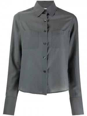 Рубашка Helena с длинными рукавами Filippa K. Цвет: серый