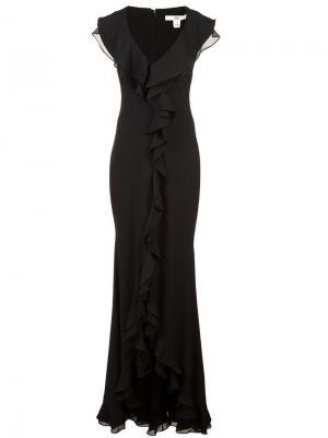 Платье Aiden Zac Posen. Цвет: черный