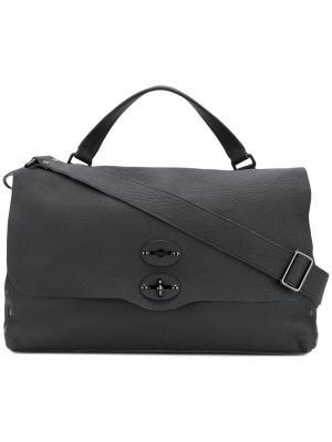 Классическая сумка для ноутбука Zanellato. Цвет: черный